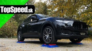 Maserati Levante 4x4 test - TOPSPEED.sk