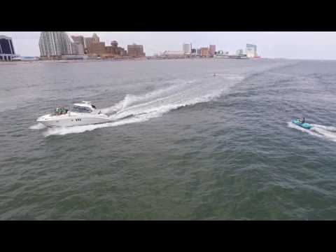 Atlantic City - Jetski Jumping Yachts Wake