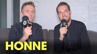 """HONNE discuss """"Warm On a Cold Night"""" album and Couples Making Out  at Shows - Toronto Interview 2016"""