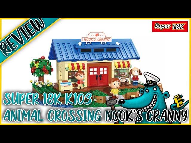 Animal Crossing Nook's Laden (K103): Wenn Lego Nooks Laden nicht will, Super18K machts möglich!