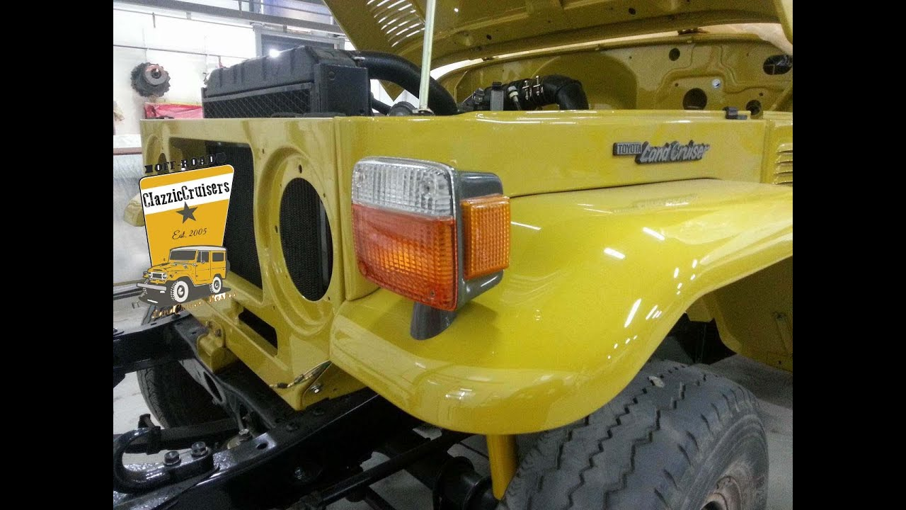 Toyota Landcruiser Fj40 Bj40 Bj42 Restoration Update 21