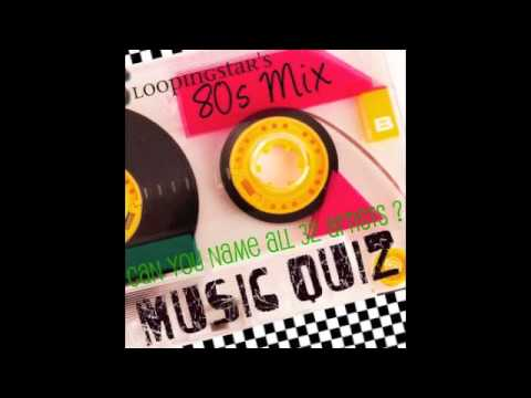 80's Music Quiz - Can You Name All 32 Artists ?