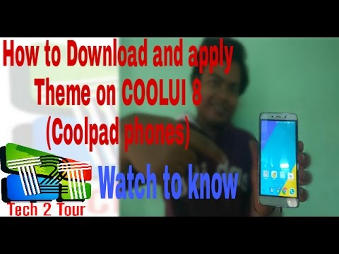 How to Change and Download Coolui 8 Theme(coolpad phones)