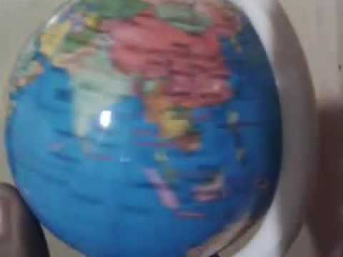 World map in a ball youtube world map in a ball gumiabroncs Images