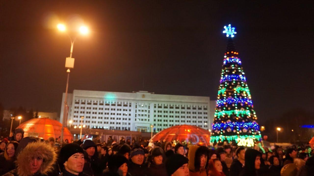 Новогодний Салют В Алматы 2014 | New Year Fireworks 2014 in Almaty