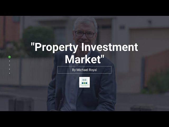 Property Investment Market   BIR Solutions