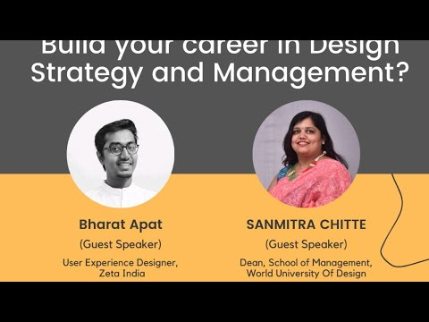 Build Your Career in Design Strategy and Management