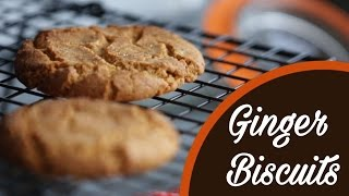 How To Make Ginger Biscuits/Cookies At Home || Diwali Recipes || Anjali Pathak
