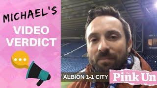 West Brom 1-1 Norwich City: Michael Bailey video verdict