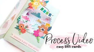 Easy Pop-Up Cards DIY Process Video