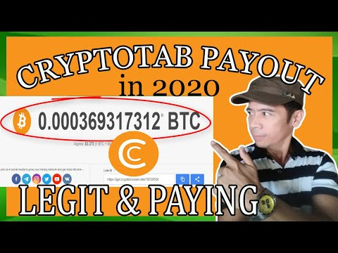 Cryptotab Browser Proof Payout  & Tricks To Boost Mining Speed In 2020(Tagalog)