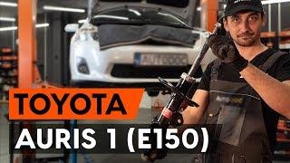 Инструкция за експлоатация на Toyota Auris e18 онлайн