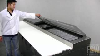 True Pizza Prep Table Video (tpp-119)