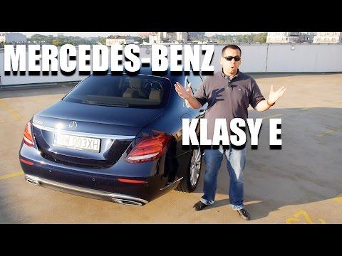 Mercedes-Benz Klasy E W213 (PL) - test i jazda próbna