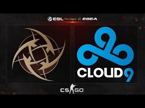 CS:GO - NiP vs. Cloud9 [Dust2] - ESL ESEA Pro League Dubai Invitational - Group A