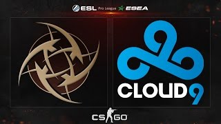 CS:GO - NiP vs. Cloud9 [Dust2] - ESL ESEA Pro League Dubai Invitational - Group A