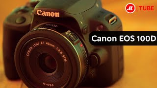 Фотоаппарат зеркальный Canon EOS 100D(Подробнее на http://www.mvideo.ru/products/fotoapparat-zerkalnyi-canon-eos-100d-body-black-10004420&reff=youtube_100d-body-black-10004420 ..., 2014-08-19T12:24:43.000Z)