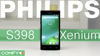 philips S398 Xenium - Dual Sim-смартфон с богатым комплектом - Видеодемонстрация от Comfy.ua