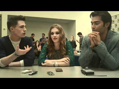 """Teen Wolf"" - Colton Haynes, Holland Roden and Tyler Hoechlin"