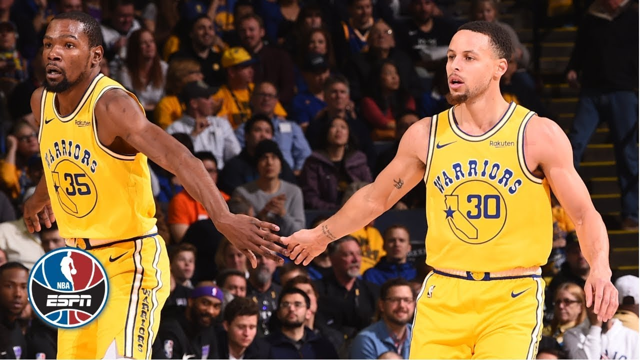 Steph Curry, Kevin Durant lead Warriors to comeback win vs. Kings | NBA Highlights