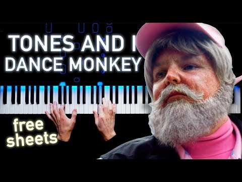 Tones And I - Dance Monkey | Piano Cover | Sheets