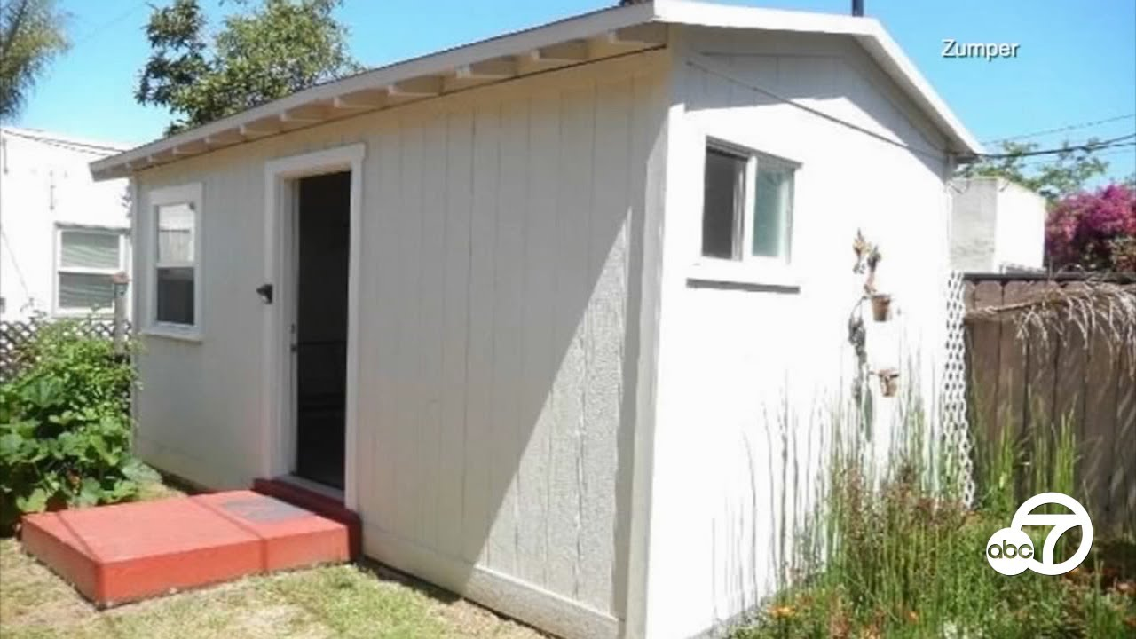 Would you pay $1,050 to rent a shed in a San Diego backyard? | ABC7