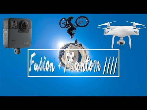 GoPro Fusion attached to DJI Phantom 4 Drone (ft. @kurtisdowns) | Episode 37 thumbnail
