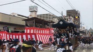 H29 岸和田だんじり祭 宵宮