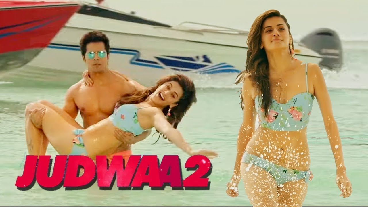 Judwaa 2 Movie Hot Scene and Sexy Kissing movie - Bollywood Entertainment