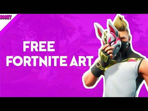 Free Fortnite Thumbnail Speedart(read description ) by Minimize Lord