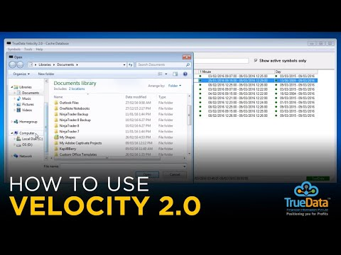 2. Using the Velocity 2 0 Front end