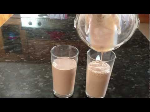 How To Make Chocolate Milk Shake(FAST AND EASY) - Episode 8