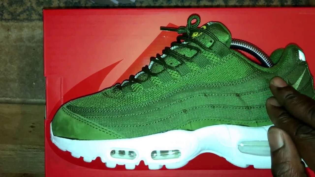 the latest 8a417 384a5 Air Max 95 x Stussy...... that Dark Olive!