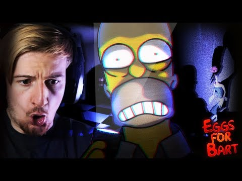 A SIMPSONS HORROR GAME? LET'S DO THIS.    Eggs For Bart