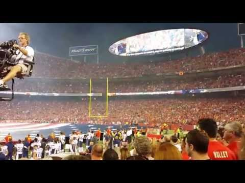 Arrowhead Stadium  9-29-14  Chiefs vs Patriots