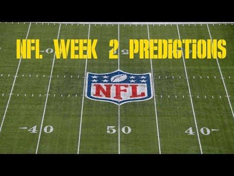 NFL Week 2 Predictions