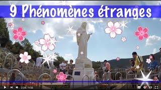 /9 PHENOMENES ETRANGES DANS LES EGLISES ... DIEU ET LA SOUFFRANCE ... MARIE ET L'AVENIR