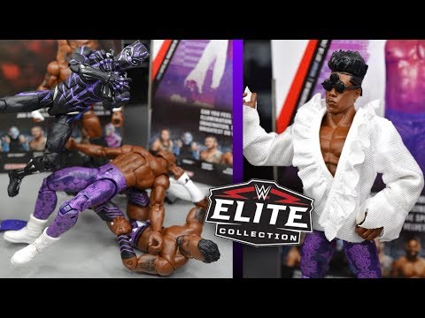WWE ELITE 67 CEDRIC ALEXANDER & VELVETEEN DREAM FIGURE REVIEW!
