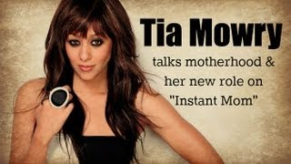 "Tia Mowry Talks Motherhood & Her New Role On ""Instant Mom"" Thumbnail"