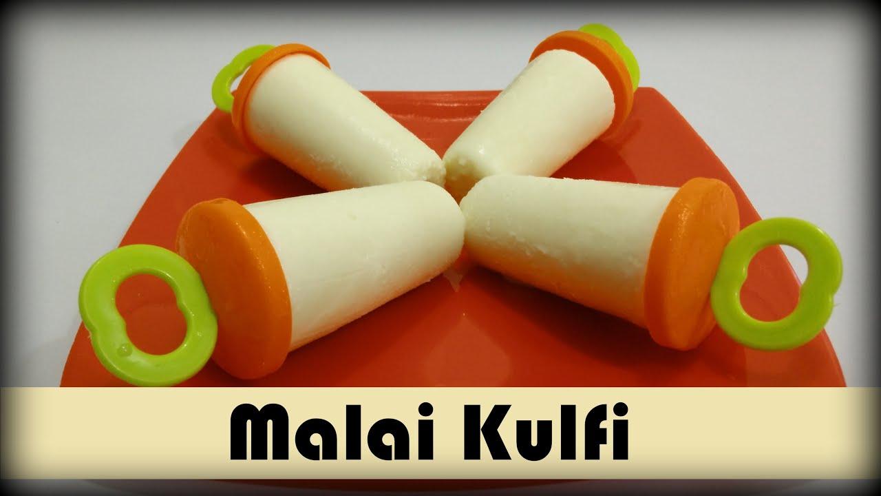 how to prepare kulfi with milk