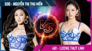 Gambar cover Lương Thùy Linh SBD 481 VS Nguyễn Thị Thu Hiền SBD 500 - Phần thi Bikini MWVN 2019 - Bạn sẽ chọn ai?