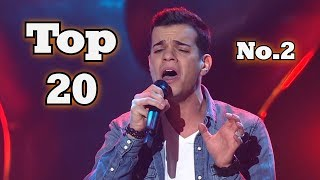 The Voice - My Top 20 Blind Auditions Around The World (No.2)