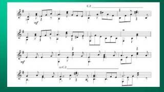 CHIỀU MỘT MÌNH QUA PHỐ - Trịnh Công Sơn - Võ Tá Hân chuyển soạn cho Guitar