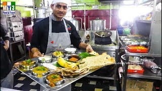 World Famous North Indian Thali (Meal) Street Food