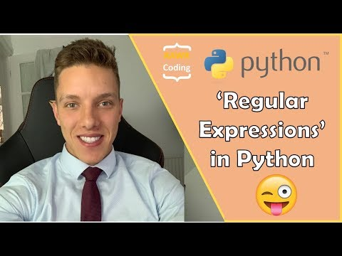 Using 'Regular Expressions' (RegEX) in Python - YouTube
