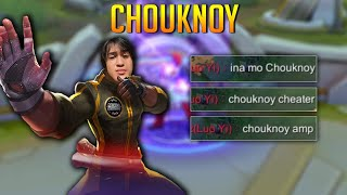 Chou New Look | Chouknoy Fighter | Chou Gameplay Chouknoy Cheater? | Mobile Legends