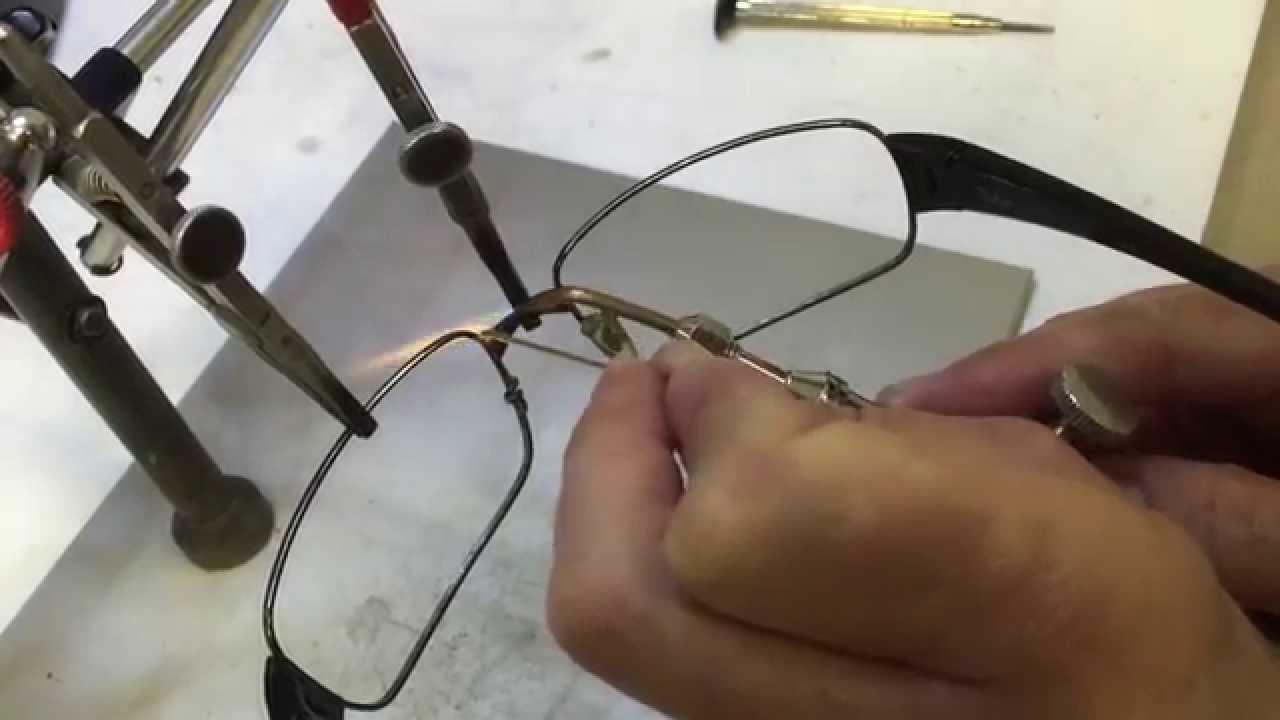 lente ray ban quebrada