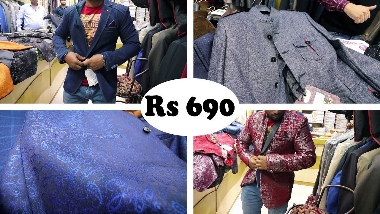 Blazer Jackets And Waistcoat For Men Blazer Market In Delhi