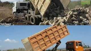Dump Truck Hino FM260TI VS Fuso 220PS
