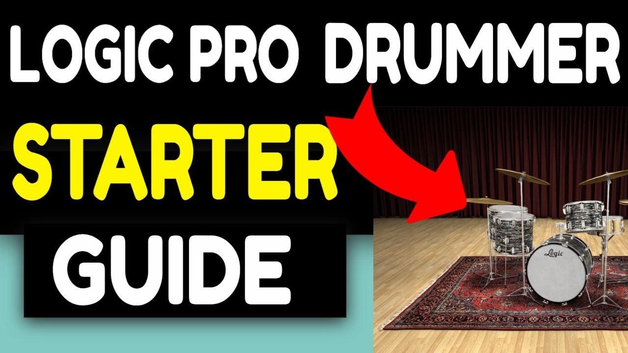LOGIC PRO X DRUMMERS BEGINNERS GUIDE MASTER CLASS (2021) Overview Tips & Tricks  GarageBand